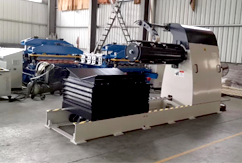 Working Performance of Cold Roll Forming Machine