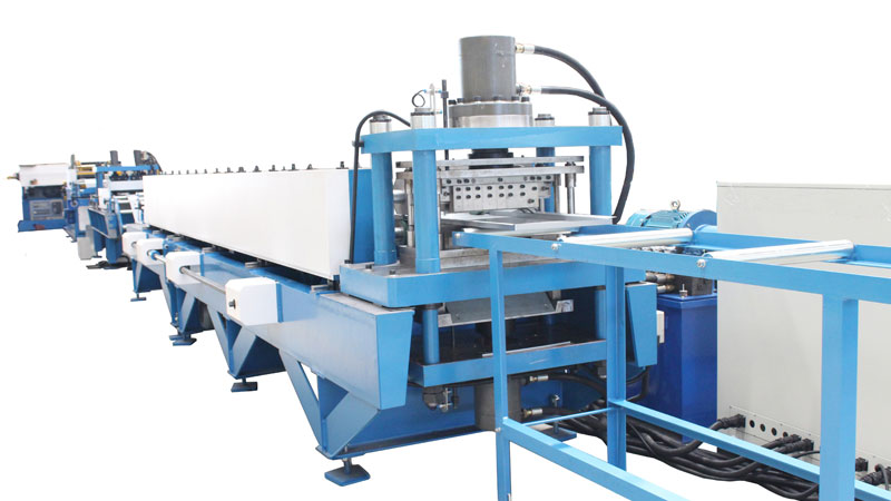 Shelf Roll Forming Machine