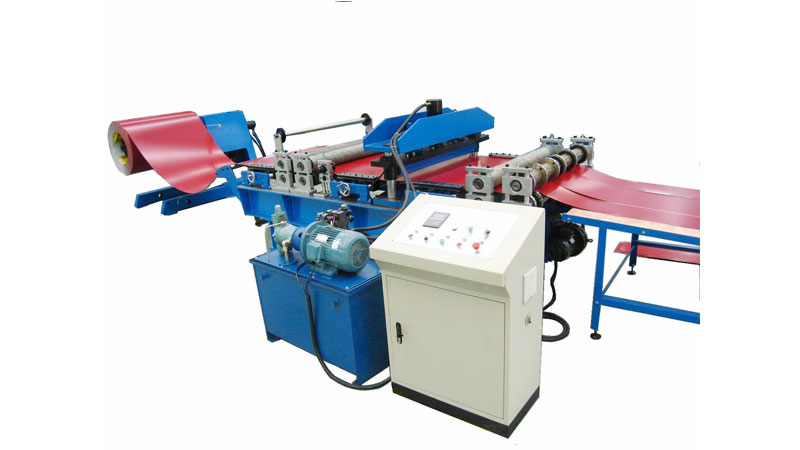 Simple Cut to Length and Slitting Machine
