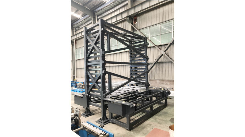 Vertical Plate Stacker