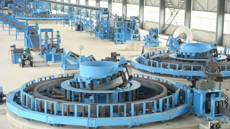 Big Size Tube Mill Line