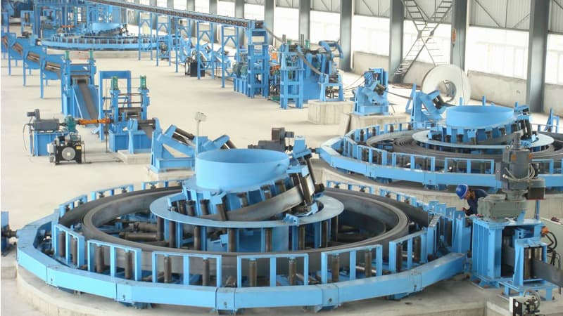 High Frequency ERW Pipe Mill Line