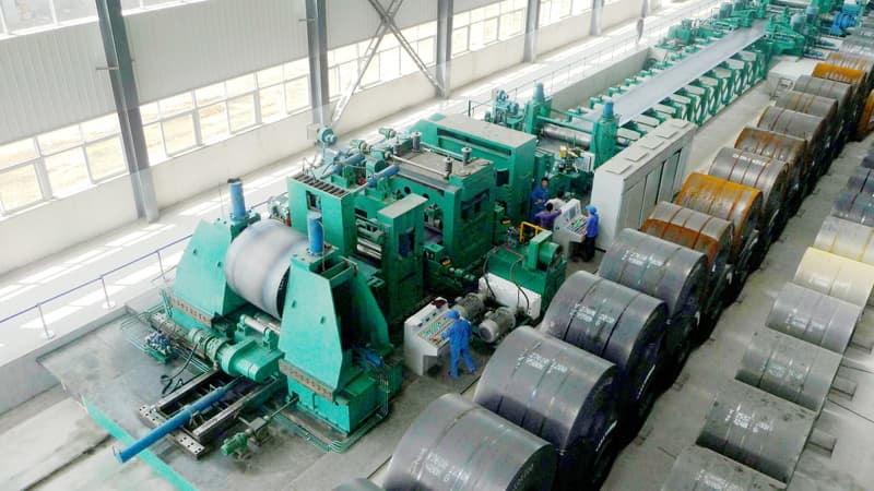 Large Diameter Spiral Pipe Mill
