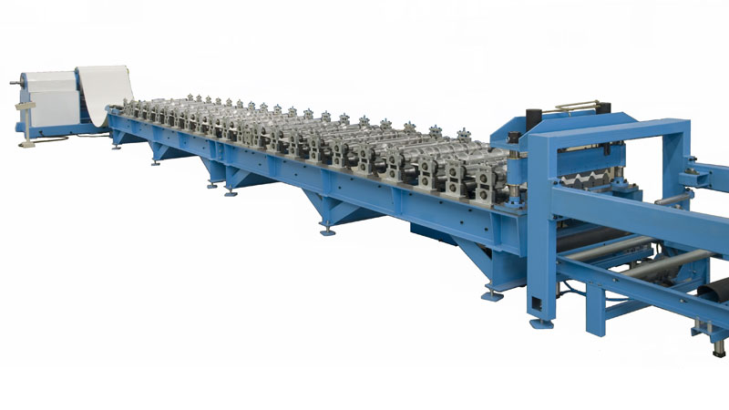 Trapezoidal Profile Roofing Sheet Making Machine