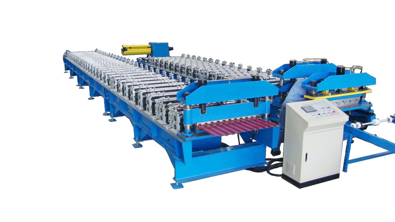 Roof Cladding Roll Forming Machine