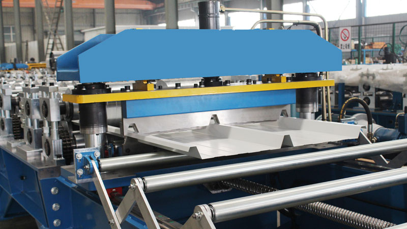 Metal Cladding Roll Forming Machine