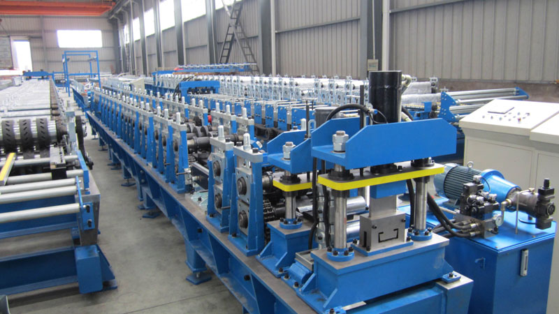 Housing Post Structure Purlin Forming Machine