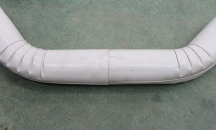 Curved pipe samples