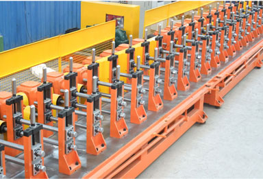 Window and Door Frame Roll Forming Machine