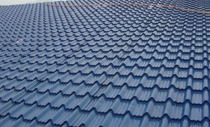 Metal Roofing Tile Former Application