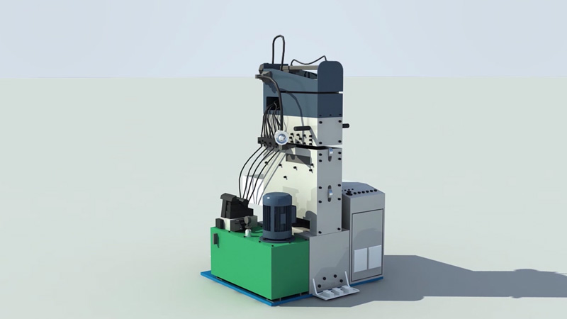 Hydraulic Automatic Shear and Butt-Welding Machine