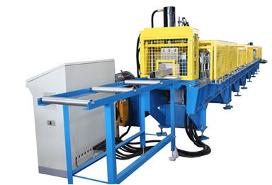Garage Door Guide Rail Roll Forming Machine