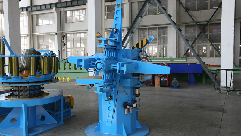 Double Side Pneumatic Decoiler