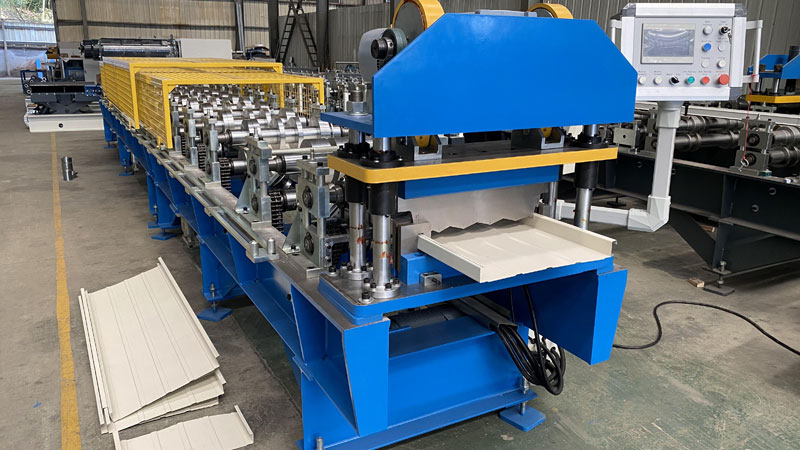 Standing Seam Panel Machine For Sale
