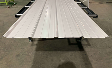 Finished Panels By Ag Panel Roll Former